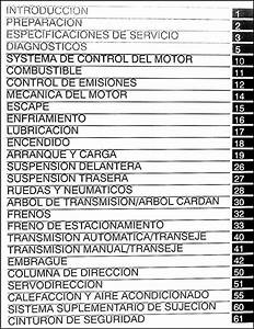 In Spanish 2004 Toyota Corolla Repair Shop Manual Original