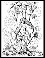 Kelp Forest Coloring Pages Drawing Getcolorings sketch template