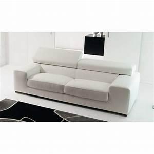canape cuir design sirio par rosini toulon marseille With tapis de yoga avec canape convertible cuir design