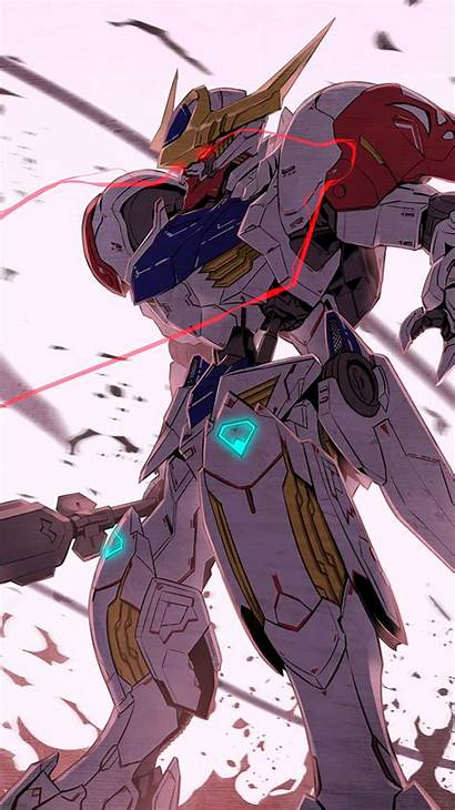 Gundam Orphans Blooded Iron Anime Mobile Suit