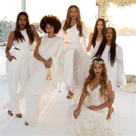Tina Knowles Wedding Style   POPSUGAR Fashion