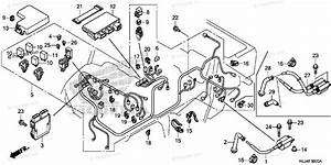 Honda Side By Side 2014 Oem Parts Diagram For Wire Harness