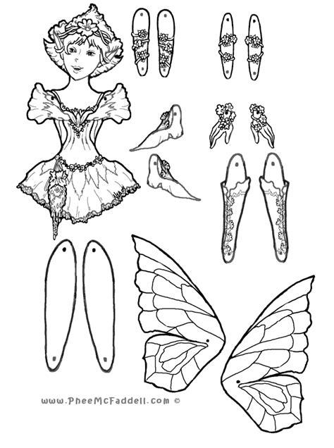 fairy puppet wwwpheemcfaddellcom fairy coloring