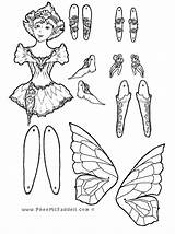 Puppet Coloring Fairy Paper Pheemcfaddell Puppets Printable Adult Colouring Crafts Marionette Template Sheets Dolls Phee Cut Halloween Mcfaddell Templates Getcolorings sketch template