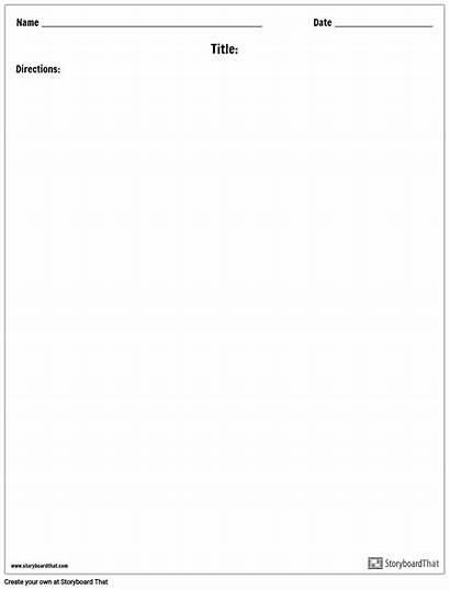 Blank Worksheet Template Templates Worksheets Create Maker