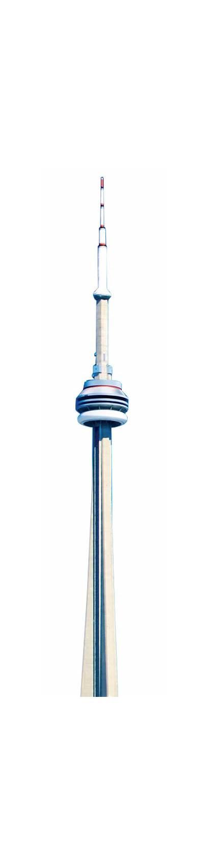 Tower Cn Walk Edge Toronto Canada Below