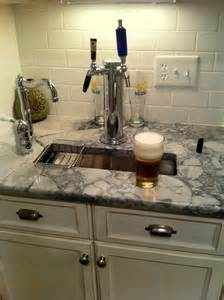 Home Bar with Beer Tap