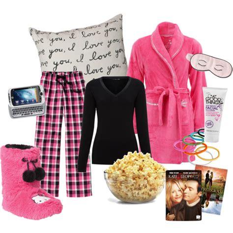 Pajama party sleepover outfit | Polyvore Creations | Pinterest | Sleepover Pyjamas and Pjs