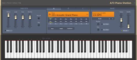 Free internet radio music stations. Play piano on computer keyboard