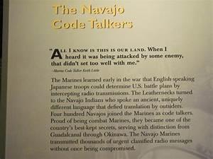 Navajo Code Tal... Keith Code Quotes