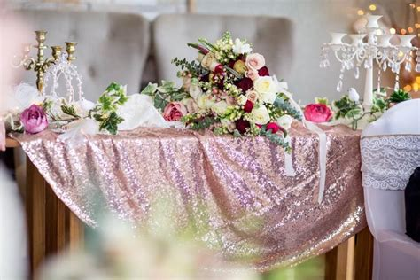 Loving the rose gold colour theme stunning decorations by