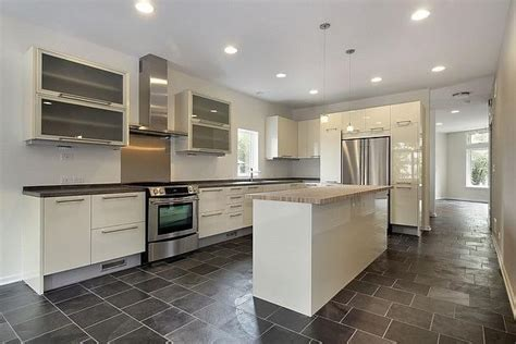 slate floor in kitchen pictures for stylish interiors inc in bellevue wa 98005 5310