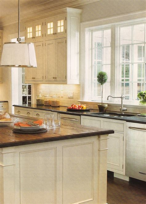 design dump white kitchen wood countertops