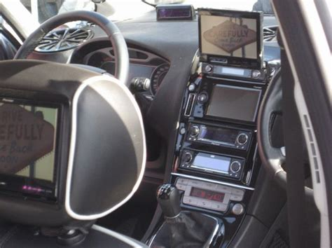 smart tv  extreme car interior tuning