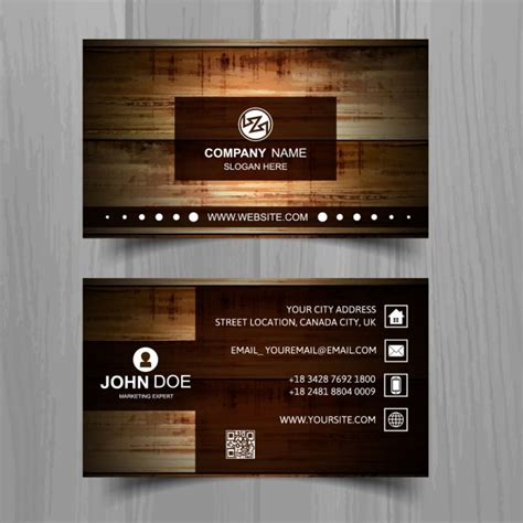 Templates For Visiting Cards Free Downloads