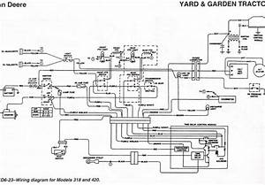 I Need A Wiring Diagram For A 420 Deere Lawn Tractor