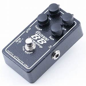 Xotic Effects Bass Bb Preamp Overdrive Bass Guitar Effects