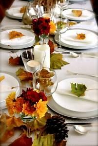 Einfache Herbstdeko Tisch : 30 coole ideen f r tischdeko im herbst herbstdeko basteln ~ Markanthonyermac.com Haus und Dekorationen