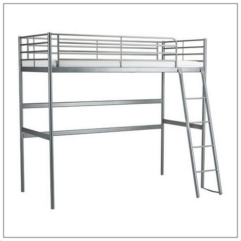 ikea loft bed frame svarta home design ideas