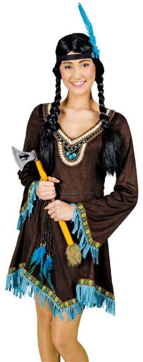 indianer indianerin kost 252 m damen kleid squaw sioux apache