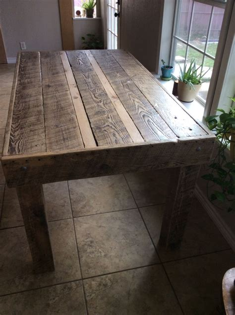 dining table   reclaimed rough sawn lumber rough