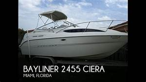 UNAVAILABLE Used 2000 Bayliner 2455 Ciera In Miami