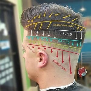 Haircut Diagram How To Fade Hair Diagram