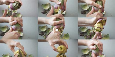 comment cuisiner les artichauts recettes de cuisine artichauts poivradres brunoise de tomates et pesto quileutcuit