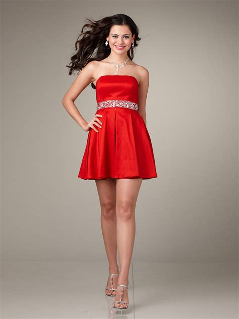 Short Red Cocktail Dress  Trendy Dress