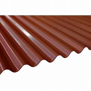 16 ft terra cotta deep corrugated steel roof panel rf With 20 ft metal roof panels