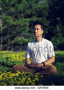 Rasen Düngen Bei Sonne : shaolin m nch meditieren drau en in der natur bei sonnenaufgang auf dem rasen in der sonne ~ Indierocktalk.com Haus und Dekorationen