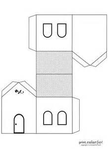 Printable House Templates
