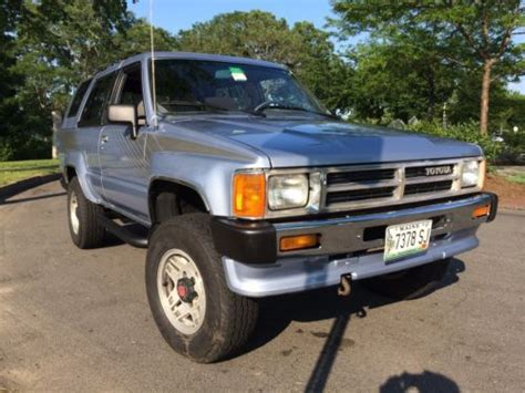 Toyota Portland Maine by Sell Used 1989 Toyota 4runner Sr5 4wd 4 Cylinder 22re In
