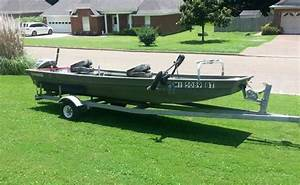 Jon Boat  14  36 Polar Kraft 9 5hp Johnson Ready To Fish
