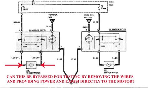 Power Window Switch Bypass Mercedes Benz Forum