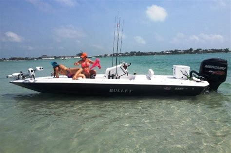 Saltwater Bass Boat by Bullet Boats New 2014 Bullet 22 Flats Boat Bass Boats