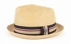 Chapeau De Paille Homme : chapeau en paille homme castor par brixton ~ Nature-et-papiers.com Idées de Décoration