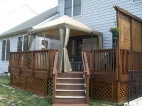 privacy railing ideas for backyard deckprivacy railing