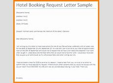 5+ hotel booking email sample appeal leter