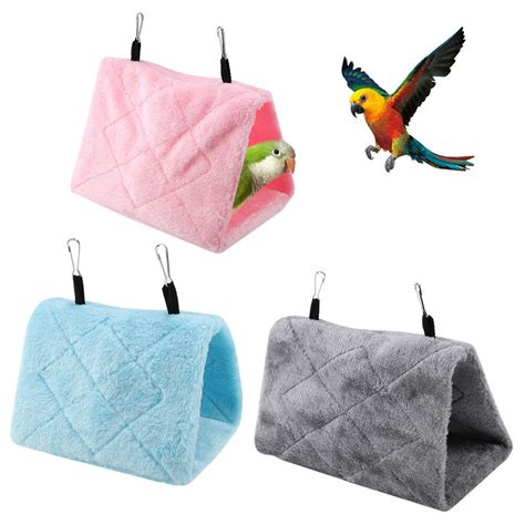 Birds Nest Hammock by Warm Soft Plush Birds Parrot Hammock Nest For Pets Hang