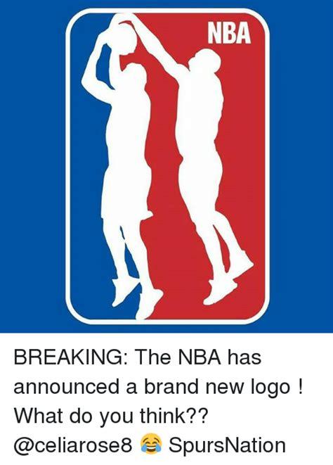 Nba Logo Meme - nba breaking the nba has announced a brand new logo what do you think spursnation meme