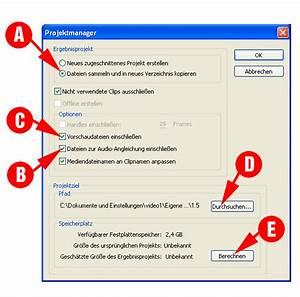 Speicherplatz Video Berechnen : tips adobe premiere pro tip 2 der projektmanager das sammeln allgemeines ~ Themetempest.com Abrechnung