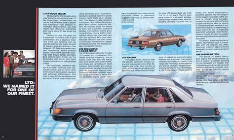 1983 Ford LTD brochure