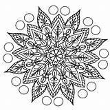 Mandala Pencil Coloring Drawing Pattern Pixel Max Support sketch template