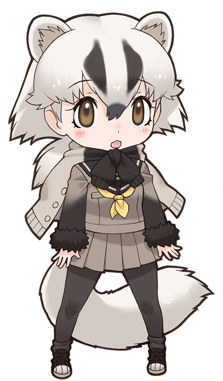 japanese badger japari library  kemono friends wiki