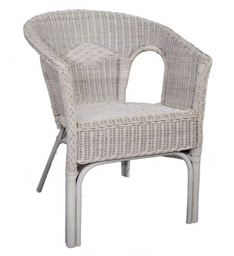 buy wicker valley rattan chair in white from our dining