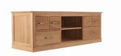 Cabinet Tv Oak Widescreen Television Mobel Baumhaus