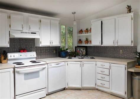 one backsplash for kitchen faux tin kitchen backsplash tutorial crafty gnome 7172