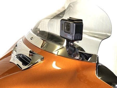 gopro action camera mounts  harley davidson