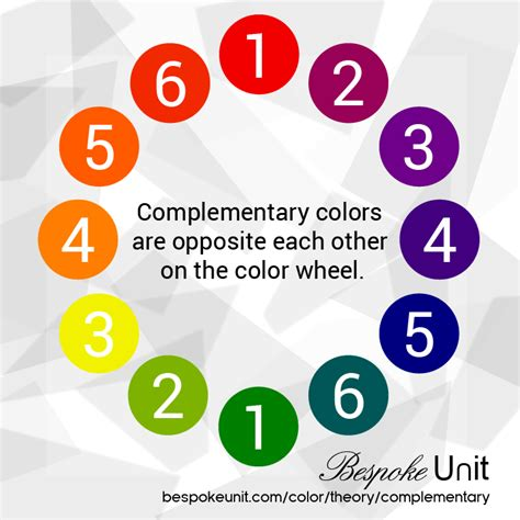 what are the complementary colors how complementary colors work in menswear guide to